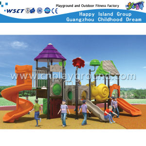 Outdoor Play Equipment Children Slide Playground for Sale HD-Tsg019 pictures & photos