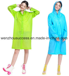 Promotional Logo Printed Rain Poncho pictures & photos
