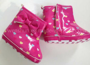 Fashion Rain Boots for Babies Girls 2301