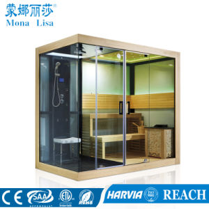 Dry and Moist Steam Combination Sauna Room (M-6032) pictures & photos
