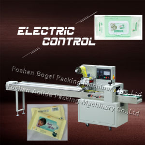 Factory Price Flow Reusable Green Towel Wrapping Machinery pictures & photos