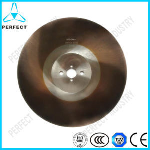 Titanium Coated HSS Dmo5 Circular Saw Blade for Cutting Metal pictures & photos