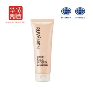 Top Sale Cosmetic Silk Protein Whitening Cleanser
