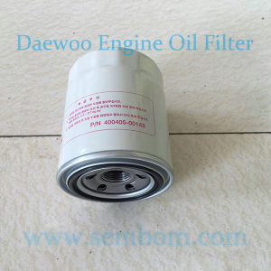 High Performance Engine Oil Filter for Daewoo/Doosan Excavator/Loader/Bulldozer pictures & photos