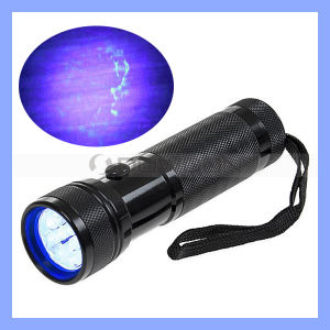Pet Urine Detector 12 LED UV Flashlight Blacklight Stain Finder pictures & photos