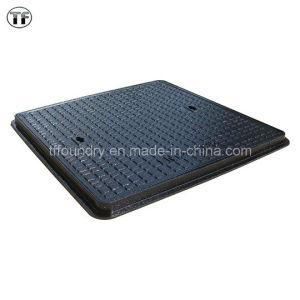 En124 Medium Duty Double Seal Ductile Casting Iron Manhole Covers