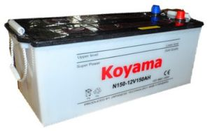 Heavy Duty Truck Battery N150-12V150ah pictures & photos