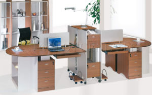 Modern Wooden Work-Station (SZ-WS044) pictures & photos