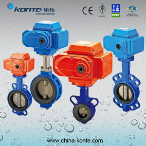 Stainless Steel Pneumatic Sanitary Butterfly Valves Kt pictures & photos