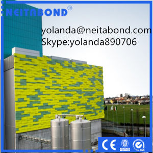 Chameleon Spectra Coated Aluminum Composite Panel From Linyi Xingda pictures & photos