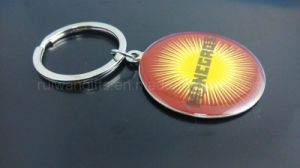 Round Metal Keychain with Logo pictures & photos