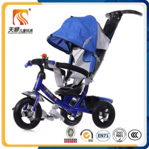 Ride on Power and Push Power OEM Custom Made Children Tricycle with Push Bar pictures & photos