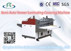 K Series Semi-Automatic Paper Veneer & Laminator & Covering Machine pictures & photos
