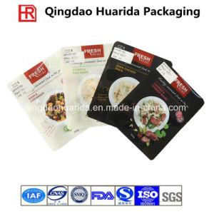 Plastic Flat Gravure Printing Ziplock Frozen Food Packaging Bag pictures & photos