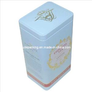 FDA Approved Rectangular Tea Tin Box (TB08)