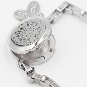 Hi Quality 316L Stainless Steel Fashion Oil Diffuser Locket Bracket Jewelry pictures & photos
