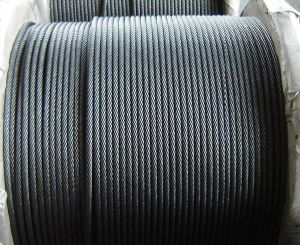Ungalvanized Steel Cable 6X37+FC/Iwrc Made in Nantong pictures & photos