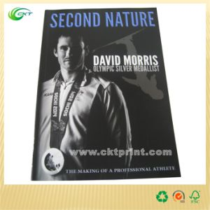 Biography Book Print with Soft Cover for Independant Publisher (CKT-CB-611)