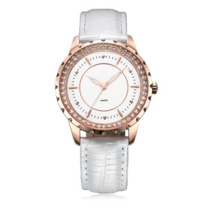 White Leather Watch for Lady pictures & photos