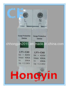 Ly1-C40-1p SPD 1+Npe Surge Protection Device Surge Protector pictures & photos