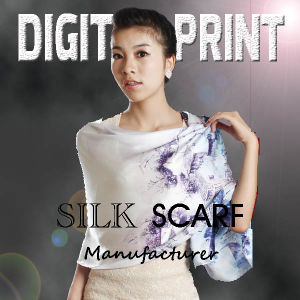 Digital Printing 2016 New Arrivals Silk Scarf (X1091) pictures & photos