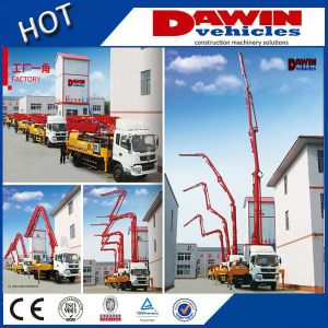 CE Approved 18m 21m 25m 28m Truck Concrete Boom Pump Truck for Sale pictures & photos