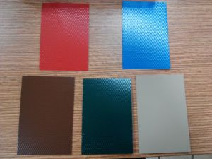 Diamond Color Coating Embossed Aluminum Coil pictures & photos
