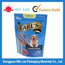 Colorful Printing Pets Dogs Food Packaging Aluminum Foil Zipper Bag pictures & photos