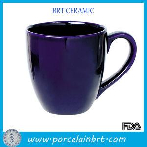 14 Oz Blue Glazed Porcelain Custom Mug pictures & photos
