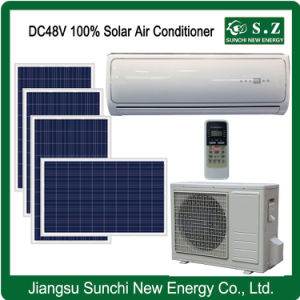 off Grid DC48V 100% Solar Power PV Panel Air Conditioner pictures & photos