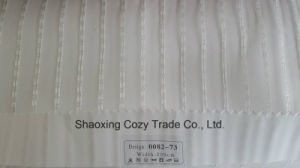 New Popular Project Stripe Organza Voile Sheer Curtain Fabric 008273 pictures & photos