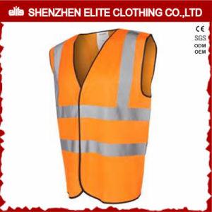 Wholesale Custom Made Orange Reflective Safety Work Vest (ELTHVVI-3) pictures & photos