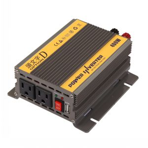 400W DC12V/24V AC220V/110 Modified Sine Wave Power Inverter pictures & photos