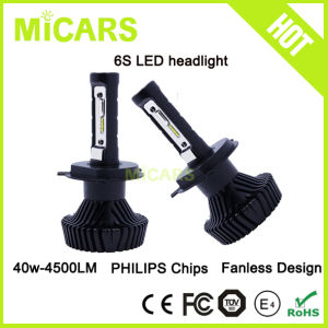2017 New 4500lm Philips H4-3 H4 Hilow Car LED Head Light pictures & photos