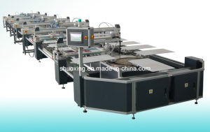 Oval Automatic Silk Screen Printing Machine, Automatic T Shirt Screen Printer pictures & photos