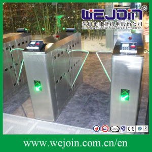 Intelligent Flap Barrier with 304 Stainless Steel Housing and Bidirectional Passing pictures & photos