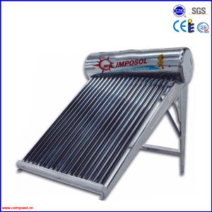 High Quality Non-Pressurized Solar Water Heater pictures & photos