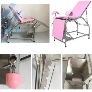 Surgical Equipment FDA/Ce Surgical Operating Table Manual Type pictures & photos