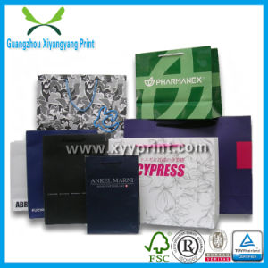 High Quality Paper Shopping Bag with Handle pictures & photos