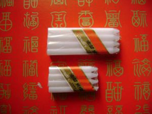 Wholesale Paraffin Wax White Bright Candle