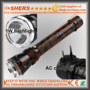 Rechargeable High Power 1W LED Flashlight (SH-1918) pictures & photos