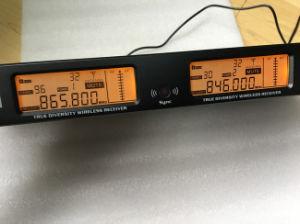 200m True Diversity Reception UHF Wireless Audio Karaoke Microphone pictures & photos