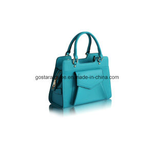 New Fashion Ladies′ Leather Handbag pictures & photos