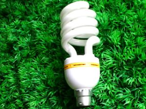 40W B22 Half Spiral Energy Saving Light Lamp