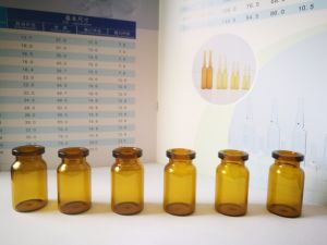 10ml Amber Glass Vial Made of Low Borosilicate Glass for Medicine /Cosmetic Use pictures & photos