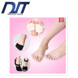 100% Cotton Summer Thin Forefoot Veil Socks pictures & photos