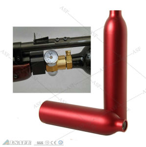 Manufacturer Aluminum Paintball CO2 Cylinders Pressure pictures & photos