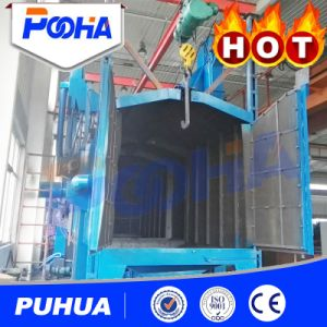 Double Hooks Wheel Shot Blasting Machine pictures & photos