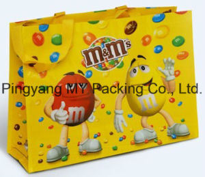 Promotional Competitive Price BOPP Coated PP Woven Shopping Bag pictures & photos