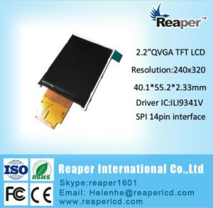 2.2inch Resolution 240*320 Spi Interface TFT LCD pictures & photos